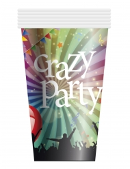 Crazy Party™- pahvimukit 25 cl