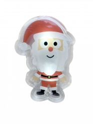 Joulupukki LED-tarra 15,5 x 12 cm