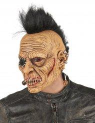 Lateksinen punk irokeesi naamari