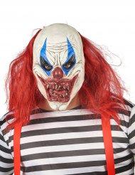 Lateksinen pellenaamari punaisilla hiuksilla aikuiselle