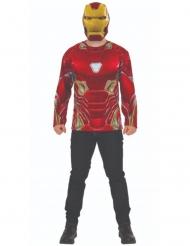 Iron Man Infinity War™ t-paita ja naamari aikuiselle