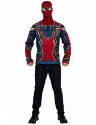 Iron Spider Infinity War™ t-paita ja naamari aikuiselle