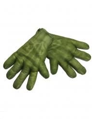 Vihreät Hulk™-hanskat aikuiselle