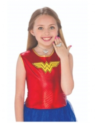 Wonder Woman™- korvakorut, kaulakoru ja sormus