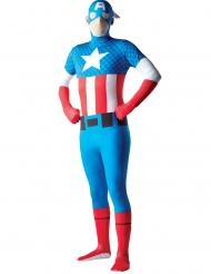 Kapteeni Amerikka™-naamiaisasu aikuiselle