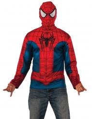 Spiderman™- paita ja naamari aikuiselle