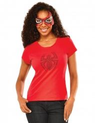 Spidergirl™-naamari ja strassipaita naiselle