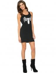 Venom Spiderman™-musta mekko naiselle