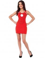 Iron Man™- punainen mekko naiselle