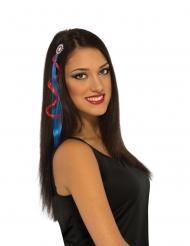 Kapteeni Amerikka™- hiustenpidennys naiselle