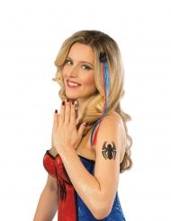 Spidergirl™- asuste- ja meikkisetti naiselle