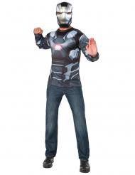 War Machine Captain America Civil War™-t-paita ja naamari aikuiselle