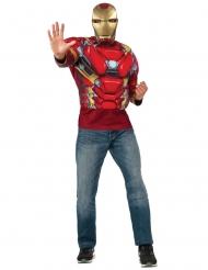 Iron Man Captain America Civil War™- paita ja naamari aikuiselle