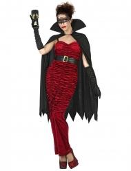 Krivittären punainen vampyyriasu naiselle