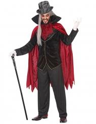 Aatelisen vampyyrin naamiaisasu miehelle