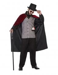 1700-luvun vampyyrin naamiaisasu miehelle