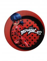Ladybug™-pahvilautaset 8 kpl 23 cm