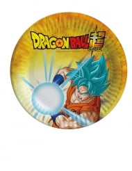 8 Dragon Ball Super™ pahvilautasta 18 cm