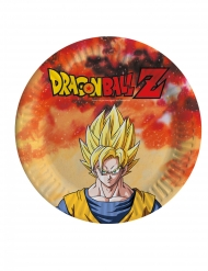 Dragon BallZ™- pahvilautaset 18 cm 8 kpl