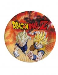 8 Dragon Ball Z™ pahvilautasta 23 cm