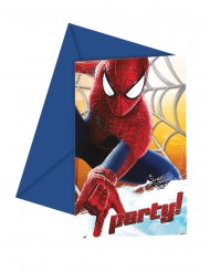 The Amazing Spiderman™- kutsukortit 12 x 12,5 cm