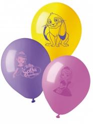 Prinsessa Sofia™- lateksiset ilmapallot 10 kpl 28 cm