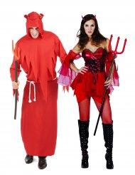 Halloween- paholaisen naamiaisasut parille
