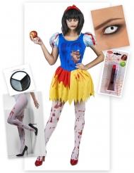 Mykytetyn prinsessan halloween-asusetti