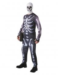 Skull Trooper Fortnite™- naamiaisasu aikuiselle