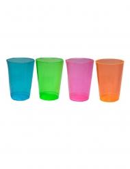 50 eriväristä lasia 296 ml
