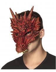 Punaisen lohikäärmeen naamari aikuiselle