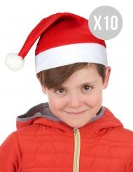 Joulun tonttulakit lapselle 10 kpl