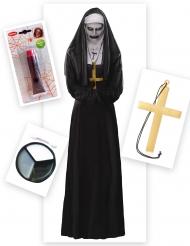 Demonisen nunnan naamiaisasu naiselle