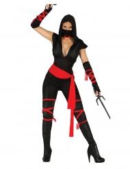 Seksikäs ninjahaalari naiselle