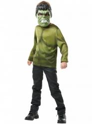 Hulkin™ t-paita ja naamari lapselle