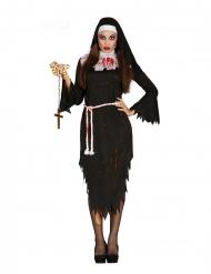 Demonisen nunnan naamiaisasu aikuiselle