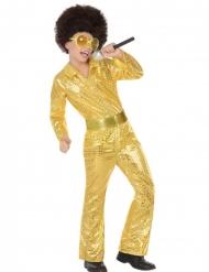 Kultainen discoasu pojalle