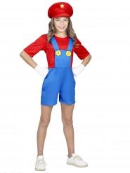 Super- putkimiehen naamiaisasu tytölle