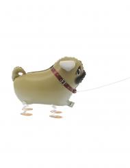 Metallinen kävelevä koira- ilmapallo 55, 8 cm
