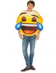Emoji™- naurava naamiaisasu aikuiselle