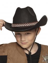 Cowboyn musta hattu lapselle
