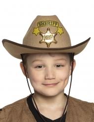 Sheriffin hattu lapselle