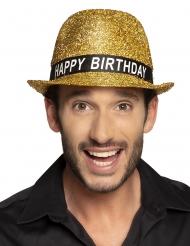 Happy Birthday- paljettihattu aikuiselle