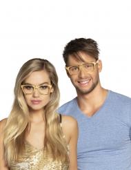 Kullanväriset silmälasit aikuiselle 3kpl
