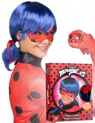 Ladybug™- peruukki ja naamari aikuiselle