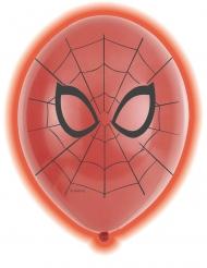 Spiderman™- lateksiset LED- ilmapallot 28 cm 5 kpl