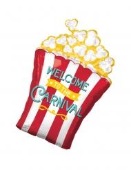 Alumiininen Popcorn-kulho- ilmapallo 50 x 73 cm