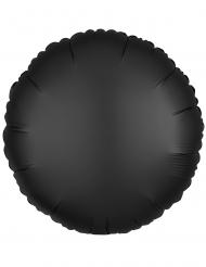 Musta pyöreä ilmapallo 43 cm