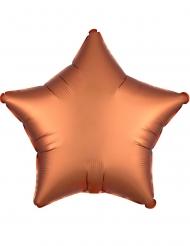 Kuparinvärinen tähti- ilmapallo 43 cm