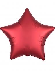 Punainen tähti- ilmapallo 43 cm